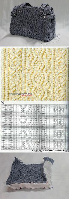 (1) tema - Borsa Mk maglia con aghi |  mestieri