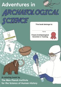 What a wonderful #free #printable #science gbook!!#archaeology #coloring #science