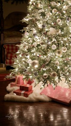 When I was a little girldecorating the Christmas tree was a big event.I would dance up and down as the boxes were hauled out of the atticand dusted off.And as we opened each one up it was like rediscovering Christmas past every year.CLICK HERE TO READ MORE...                                                                                                                                                                                 More
