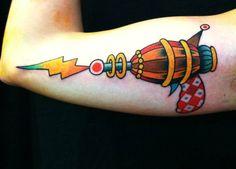 Jesus Cuesta Tatto - color pistol tattoo