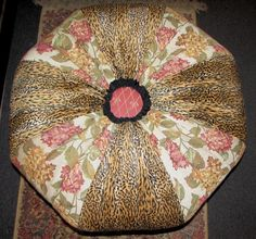 Mackenzie Childs Footstool...or Pillow Inspiration