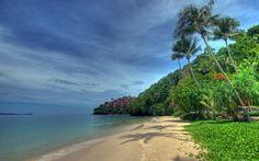 Beach at Cape Panwa - Phuket          Thailand