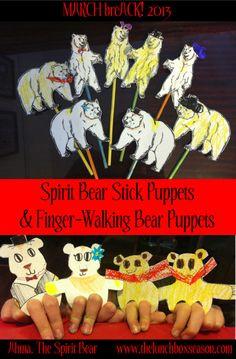 Bear puppets