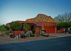 Homes in Tuscon Arizona. this legit looks just like my grandmas house.