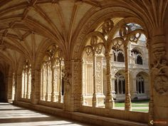 Mosteiro dos Jeronimos (Lisbon, Portugal).
