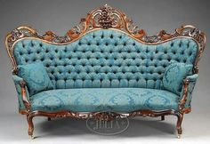 Home Furniture Store Antique Furniture Couch Victorian Sofa, Victorian Furniture, Victorian Decor, Victorian Homes, Antique Furniture, Antique Couch, Antique Beds, Antique Dishes, Antique Chairs