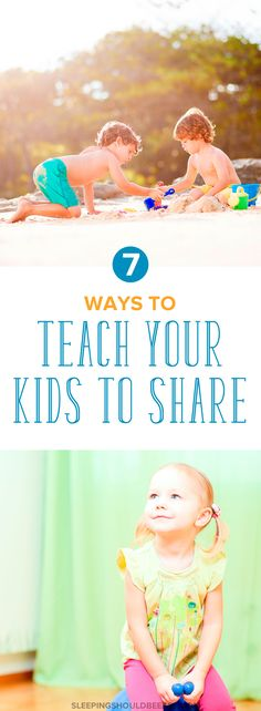 Looking for tips on how to teach toddler to share toys? Not sharing with other kids and family members is common with toddlers, but parents can still encourage and teach your toddler to share with 7 ideas.