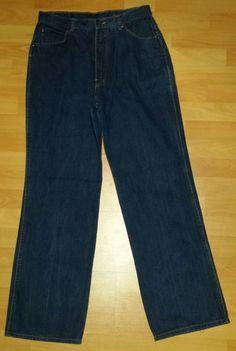 Mas Blue Jean Fashion Jeans Womens Preowned Size 12 #MasNewFashion #StraightLeg