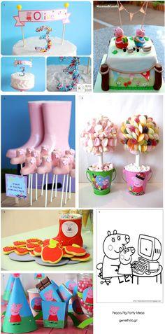 Peppa Pig Party Ideas πεππα το γουρουνακι παρτι παιδικο