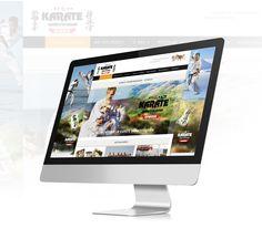 Strona internetowa wykonana na zlecenie klubu karate - Otwock