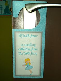 Tooth Fairy Printables, projects, tooth receipts, stationary and a freebie!