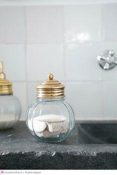 Rivièra Maison najaar/winter collectie 2015: Aspen Aspen, Home Spa, Jar Storage, Kitchen Appliances, Glass, Inspiration, Winter Collectie, Bathroom, Home Decor