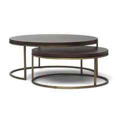 BASSEY NESTING COCKTAIL TABLE[ available online ] - Mitchell Gold & Bob Williams