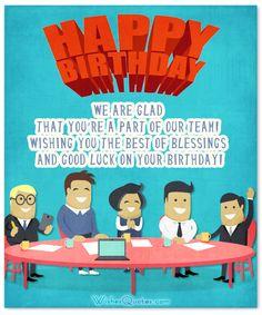 retirement messages for coworkers 33 Heartfelt Birthday Wishes for Colleagues Birthday Wishes For Coworker, Happy Birthday Colleague, Unique Birthday Wishes, Happy Birthday Wishes Photos, Birthday Wishes Cards, Happy Birthday Fun, Birthday Songs, Happy Birthday Messages, Happy Birthday Greetings