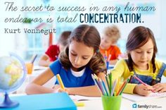 Finding focus:10 ways to help increase your child's concentration