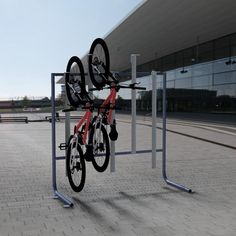 Vertical-bike-rack