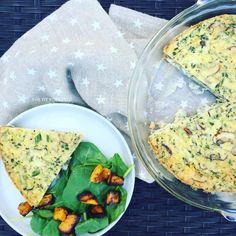 Vegetable Quiche with Chickpea Flour Crust (Gluten Free, Dairy Free, Vegetarian)