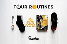 Any rider in Tour de France has his own peculiar superstitions and pre-ride routines. The same bars, the same gels or a base layer inside out not to jinx his race. We want to see YOUR strange pre-ride routines. Eat your breakfast only when formed as a triangle ? Leave the book upside down on your table ? Or perhaps you put on your right shoe first ? Share your strange pre-ride routines at #TOURROUTINES @ISADOREAPPAREL on Instagram or Facebook. In the spirit of the Tour we've got great LA…