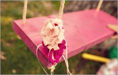 Pink Tree Swing