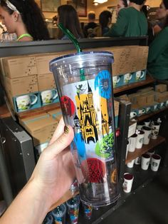 We've seen a lot of new Starbucks Disney Parks cups over the last year, including the new ceramic hot tumbler style. However the Starbucks Disney Parks Cold Tum Disney World Souvenirs, Disney Parks Merchandise, Disney Starbucks, Disney Outfits, Disney Clothes, Disney Cups, Starbucks Tumbler, Disneyland Paris, Disney Vacations