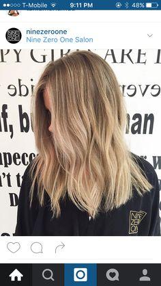 Sandy balayage #balayage #blonde #bronde #spring #springhair