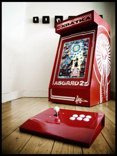 Arcade Stick, Mini Arcade, Consoles, Arcade Bartop, Arcade Room, Diy Tech, Arcade Machine, Pinball, Arcade Games