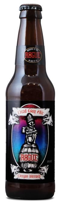 13 scary, spooky beers for Halloween. Dead Guy Ale from Rogue Ales makes the list.