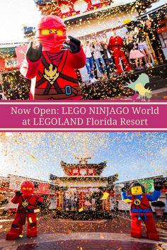 Now Open: LEGO NINJAGO World at LEGOLAND Florida Resort #BecomeTheNinja via @carriemclaren1