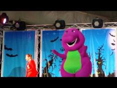 Barney Show with Redcoat Raani - Butlins Minehead - Oct 2011