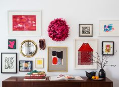 happy walls!       22 Swoon-Worthy Salon Walls You Should Probably Pin via Brit + Co.