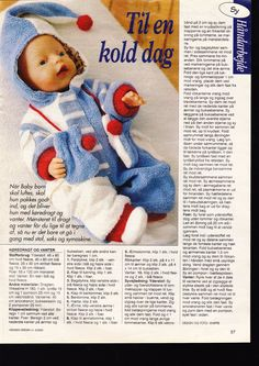 """Photo from album """"Одежда для Baby Born. Knitting Dolls Clothes, Baby Doll Clothes, Doll Clothes Patterns, Doll Patterns, Barbie And Ken, Barbie Dolls, Love Knitting Patterns, Knitting Books, Baby Alive"""