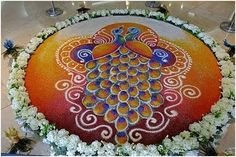 Top 10 Rangoli Designs Peacock