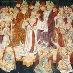 affreschi quattrocenteschi nella chiesa di San Fiorenzo, Mondovì, Cuneo