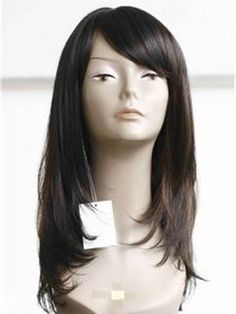 Super Charming Hairstyle Designed For Sweet Lady Long Lovely Straight Natural Lace Wig about 18 Inches 100% Human Hair  Original Price: $655.00 Latest Price: $211.09