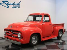 eBay: 1955 Ford F-100 FULLY RESTORED TRUCK, EXCELLENT PAINT, FRESH 351 WINDSOR, MUSTANG II, VERY NICE! #classiccars #cars