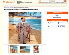 L'artiste Marcel Broodthaers vend ses œuvres sur leboncoin.fr