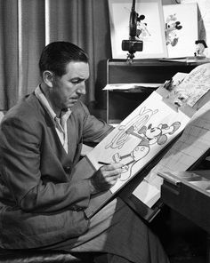 """I only hope that we don't lose sight of one thing, that it was all started by a mouse."" – Walt Disney"