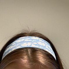 Dior monogram headbands price for one Baby Blue Aesthetic, Aesthetic Hair, Grunge Hair, Looks Vintage, Cute Hairstyles, Hair Looks, Hair Inspo, Hair Makeup, Hair Color