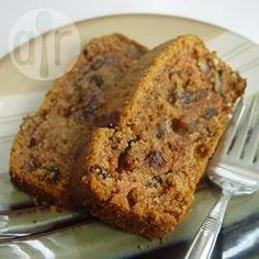 Recipe photo: Apple sauce cake  Vegan sultana cake. Use nuttelex