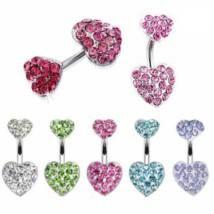 Piercing szív mintával