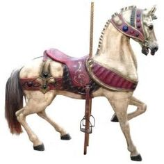 Image result for pictures of carousel horses
