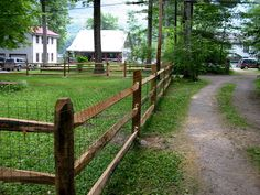 split rail fence with wire for horses | Split Rail and Post & Rail