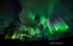 A new report from Tromso Norway, 1 hrs old picture from tonight