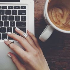 Give me blogging + coffee
