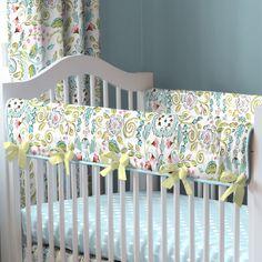 Bebe Jardin Baby Crib Bedding by Carousel Designs.