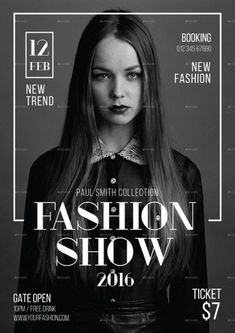 fashion poster Ideas For Fashion Show Poster Design Art Design Typography, Graphic Design Posters, Graphic Design Inspiration, Lettering, Editorial Design, Editorial Layout, Editorial Fashion, Magazine Editorial, Poster Layout