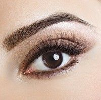 Natural eye makeup for brown eyes!