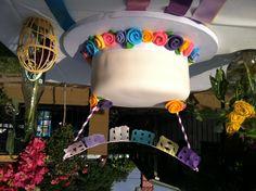 Abuelita's 90th Birthday Fiesta fiesta rose cake