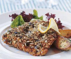 Steirisches Cordon bleu - Rezept - Saisonküche Salmon Burgers, Bagel, Ethnic Food, Austria, Ethnic Recipes, Tips, Essen, Farmhouse