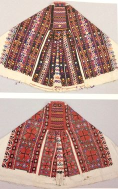 Slovak Folk Embroidery - reminds me of the chewing gum on canvas pictures